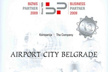 Business Partner 2009 Award received